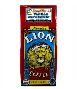 vanilla macadamia nut coffee by Lion