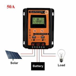 Solar Charge Controller - 50A